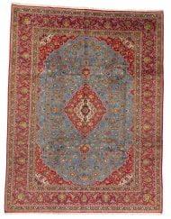 Keshan Teppich aus Schurwolle