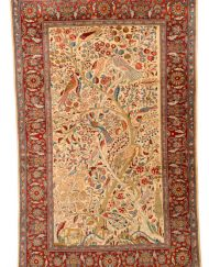 Keshan Teppich aus reiner Schurwolle