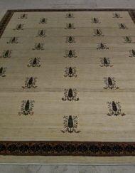 Schurwolle Teppich aus Südwestpersien